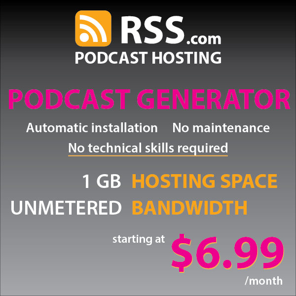RSS Podcast hosting